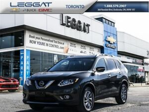 2014 Nissan Rogue LEATHER HEATED SEATS/NAV/GREAT ON GAS