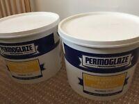 2x15 L permoglaze high opacity Matt emulsion- magnolia