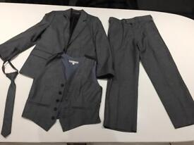 Three piece suit for a 7 year old child