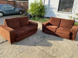 🚚🚚🚚✅✅✅2 Beautiful Super Comfortable Sofas For Sale Free Delivery Radius Apply ✅✅
