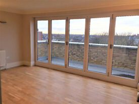 A newly refurbished two bedroom flat with balcony overlooking Dean Gardens in West Ealing