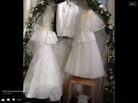 White communion dresses *relocation sale* everything must go!!