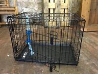 Black Med/Large Dog Crate/Cage