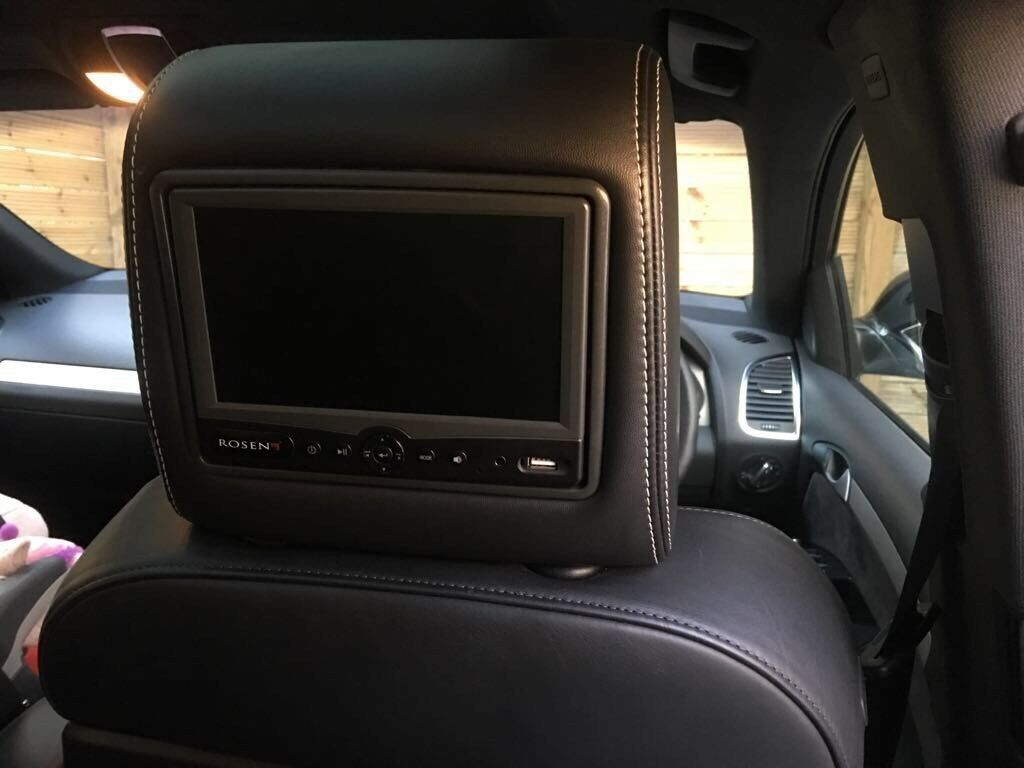 Rosen dvd entertainment system with head rests