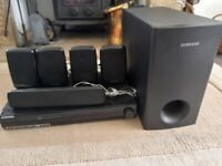 Samsung 5:1 Home Theatre System 1000w + Subwoofer £65