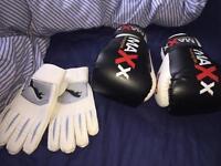 Puma Goalkeeper Gloves&Pro Maxx Boxing Gloves