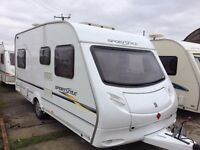 sprite sportstile 4 berth fixed bed 2006 model motor mover+awning
