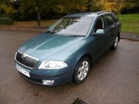 Skoda Octavia ELEGANCE TDI LOOK @ THE MILEAGE (island green metallic) 2006