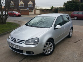 AUTOMATIC V W GOLF GT . 1 YEAR MOT . SUPERB DRIVE . MINT CONDITION . HPI CLEAR.