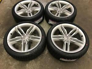 "19"" STOCK OEM Audi Wheels and 255/35R19 NEXEN Winter Tires"