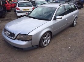AUDI A6 2.5 TDI AUTOMATIC ESTATE BREAKING FOR PARTS