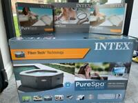 BRAND NEW Intex Inflatable 4 Person Octagon Hot Tub Spa Pool (Not Lay Z Spa Paris Vegas Miami)