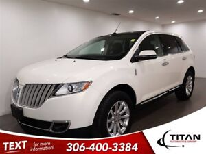 2012 Lincoln MKX Local|AWD|CAM|Leather|NAV|Sunroof