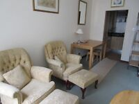 Modern city centre 1 bed flat in factored property.