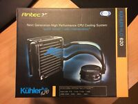 Antec Kuhler H2O 620 Liquid Cooling System + Akasa 120mm fan