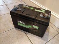 2 x 113AH Leisure Batteries
