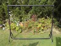 Clothes hanging rail.Perfect for shops,boot sales etc.