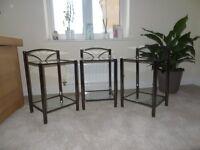 Bedside tabels Black Nickel (3)