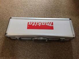 Makita aluminium carry case