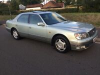 Lexus LS400 400 (metallic green) 1997