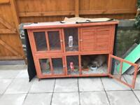 Rabbit hutch and BlueBell cover
