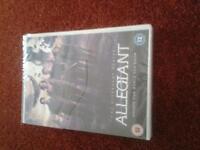 Allegiant DVD for sale.
