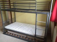 IKEA BUNK BED WITH EXTRA PULL OUT BED