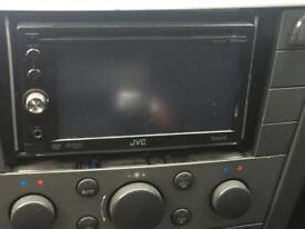 JVC face off dvd cd MP3 player.
