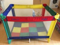 High chair & GRACO cot for sale
