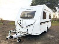 Wenisberg CaraOne 390QD 4 berth touring caravan - CHOICE OF 2!