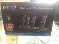Bt8600 quad (4) call blocker phone