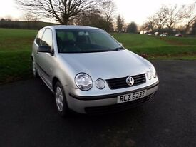 VW POLO 1.2L Petrol with only 84k, 11 month MOT & FSH. Not Fiesta, 206, Corsa, Clio or Saxo.
