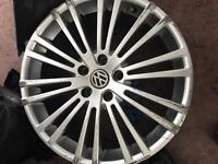 Alloy wheel vw 5pairs