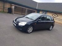 Automatic,73k Low Mileage,12Month MOT,Honda Civic Executive £950(like Vw ,BMW, Astra,ford,Vauxhall,)