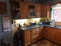 Solid Wood Light Oak Kitchen for Sale