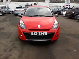 Reg. 15/12/2011 RENAULT CLIO DYNAMIQUE TOMTOM 1.1L PETROL, 45K,SAT NAV,CRUISE CONTROL, MUST BE SEEN