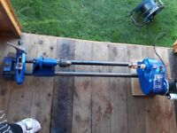 Record DML24X woodturning lathe