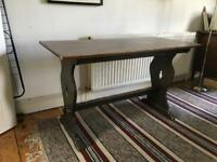Vintage Wooden Pub Table. Price reduced.