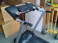 Roger Black treadmill with electric rise and fall