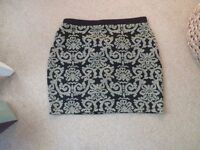 la redoute mini skirt,size 8-10,brand new!