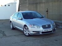 2008 (58) JAGUAR XF V6 DIESEL 1 OWNER 36000 MILES SAT-NAV LEATHER BLUE TOOTH REDUCED PRICE