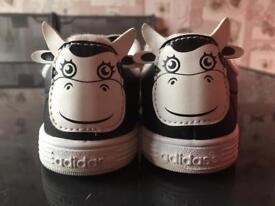 Infant Adidas trainers size UK 7.5