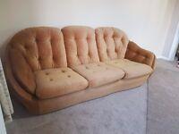 Vono vintage 3 seater suite