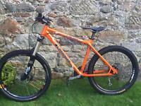 Orange Crush Mountain Bike - Great Condition