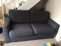 DFS two seater grey sofa. Bought in Jan 2017 RRP £230, £100 Ono