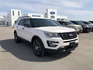 2017 Ford Explorer Sport - NAV, HEAT/COOL LEATHER, PANORAMIC ROO