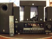 Yamaha 5.1 surround sound TV cinema system