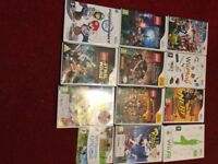 nintendo wii,15 games and accesories
