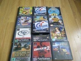 Playstation 1 Games Bundle. Joblot