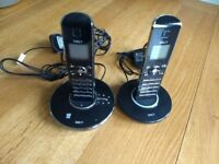 iDECT N1i Twin digital cordless telephone with answer machine